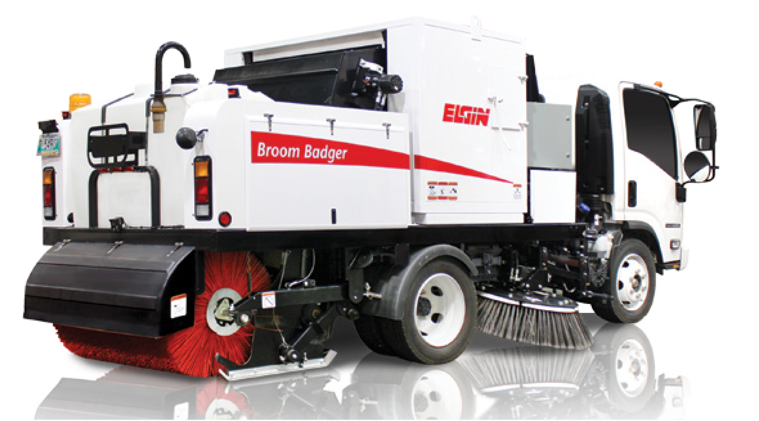 BROOM BADGER STREET SWEEPER Preview Image
