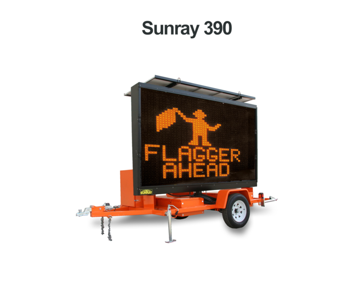 SUNRAY 390 MESSAGE SIGN Preview Image